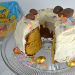 Celebrate Easter with a Butterfinger Cup Egg Pound Cake