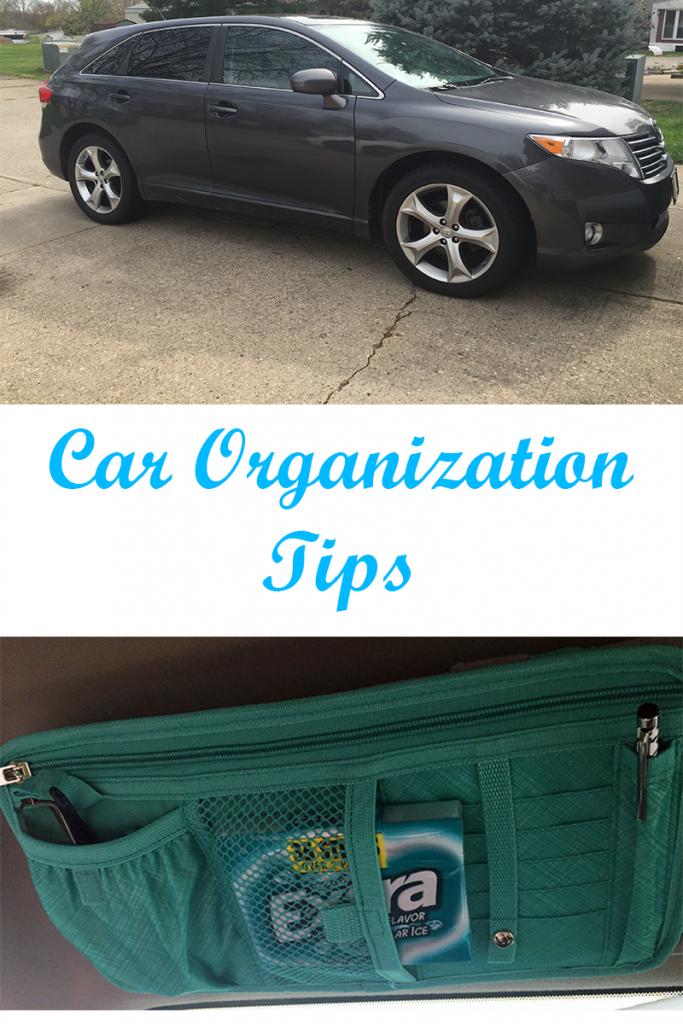 Car Organization Tips
