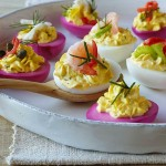 Pickled Deviled Eggs Recipe + Easter Twitter Party!