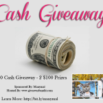 $200 PayPal Cash Giveaway (Ends 4/28)
