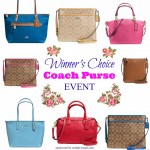 Choose Your Coach Purse Giveaway (Ends 5/15)