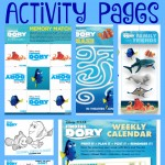 Finding Dory Matching Game + More Activity Pages #HaveYouSeenHer #FindingDory