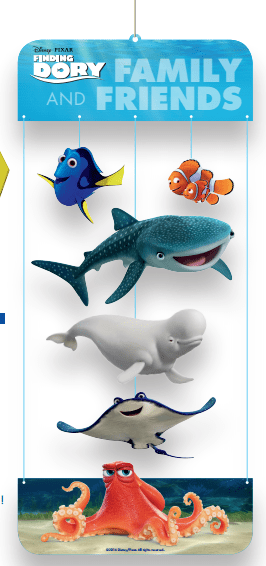 Finding Dory Printable - Character Mobile #FindingDory #HaveYouSeenHer