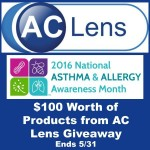 National Asthma & Allergy Awareness Month Giveaway (Ends 5/31)