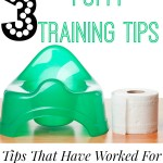 3 Potty Training Tips #TrainTogether