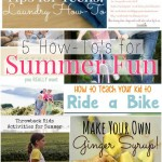 Good Tips Tuesday Link-Up Party #128 – 5 How To's For Summer Fun #GTTuesday