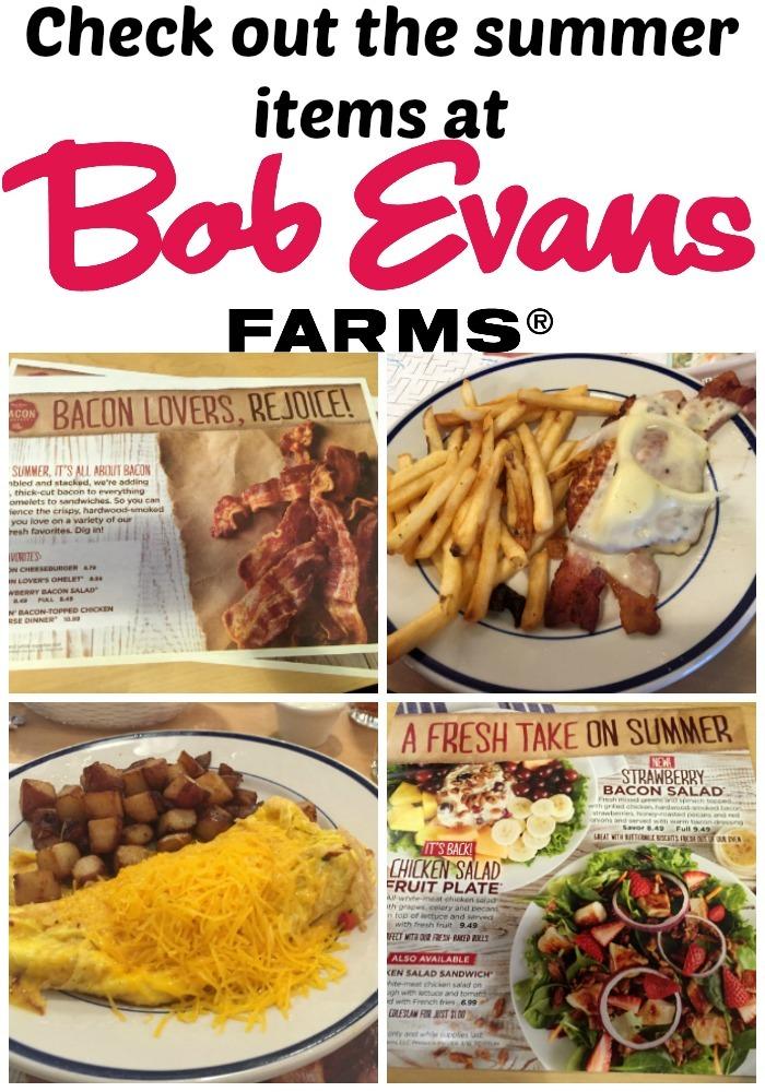Bob Evans Summer 2016