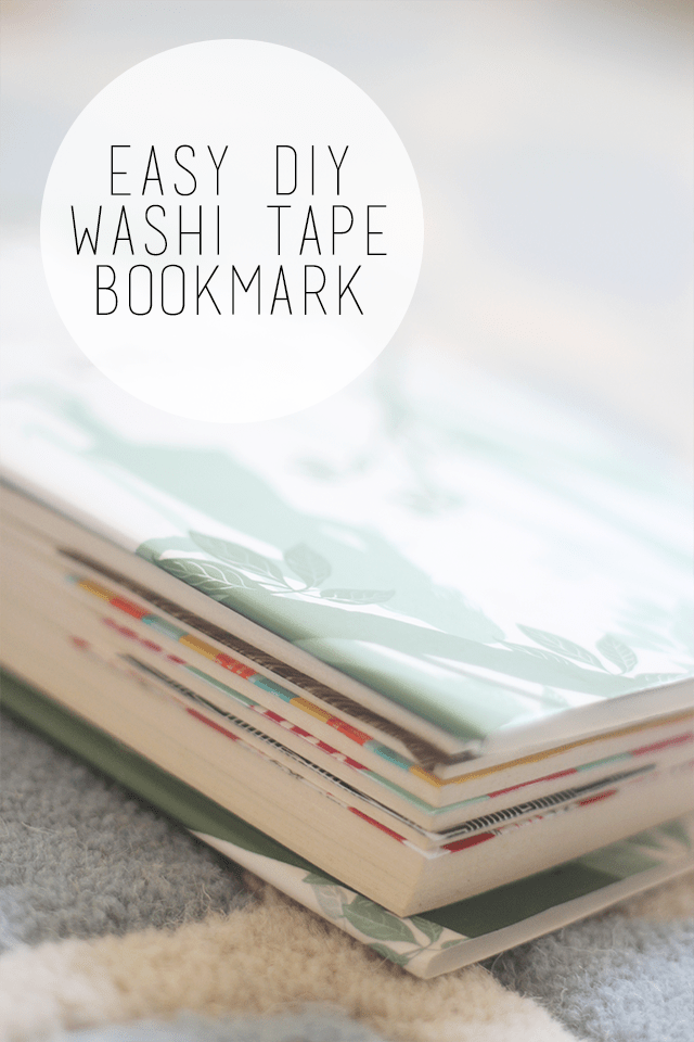 Love curling up with a good book at night? Do you lose your bookmarks? If you said yes, than this Easy DIY Washi Tape Bookmark is for you! I am always losing my bookmarks so to be able to make them on the spot makes my life so much easier! Be sure to check out this Easy DIY Washi Tape Bookmark tutorial so you don't have to worry about losing your page again!!