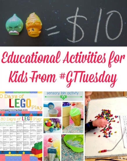 Educational Activities For Kids GTTuesday