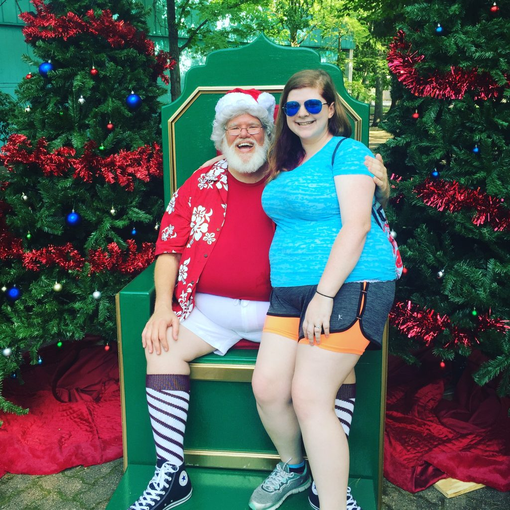 Christmas in July at Kings Island! #KIFirstTimer - Optimistic Mommy