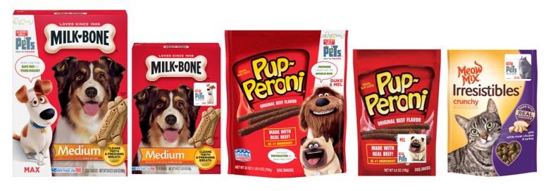 the secret life of pets pup-peroni and milk-bone