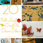 20 Fall Leaf Craft and Home Decor Ideas