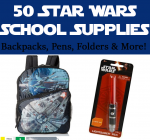 50 Star Wars School Supplies