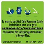 Child Passenger Safety Week #TheRightSeat