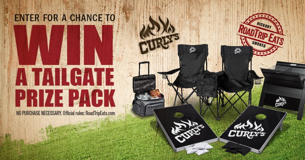 Enter For A Chance To Win A Tailgate Prize Pack #RoadTripEats