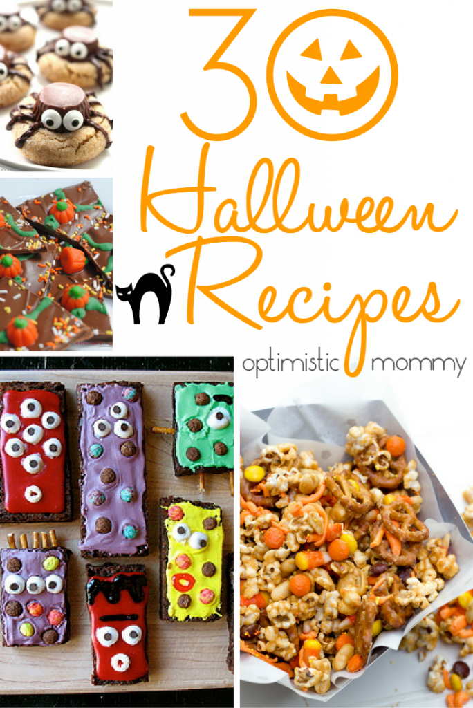 30 Halloween Recipes | Optimistic Mommy