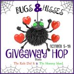 Bugs & Hisses: A Halloween Giveaway Hop – $20 Amazon Gift Card (Ends 10/19)