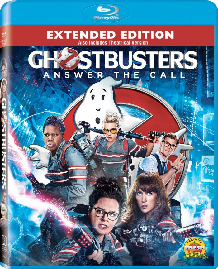 Ghostbusters: Answer The Call Extended Edition Available On Blu-Ray, DVD, and Digital Now!   Optimistic Mommy