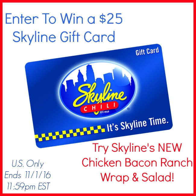 Skyline's New Chicken Bacon Ranch Wraps & Salads & Tailgating + $25 Gift Card Giveaway (Ends 11/1) | Optimistic Mommy