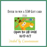$50 Toys R Us Gift Card Giveaway (Ends 11/7)