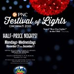 Get Half-Price Tickets To The Festival of Lights at Skyline + Giveaway (Ends 11/4)