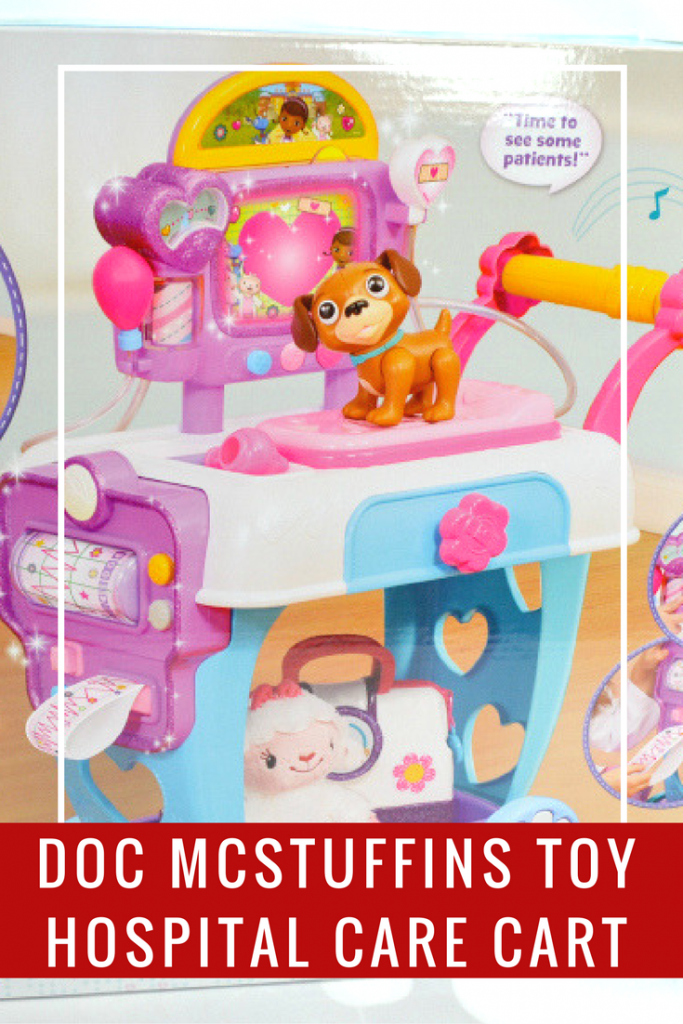 The Doc McStuffins Toy Hospital Care Cart is the perfect gift for children who love this hit show.
