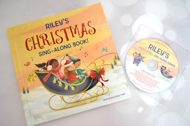 I See Me! Personalized Christmas Sing-Along Book & CD #OMHoliday16