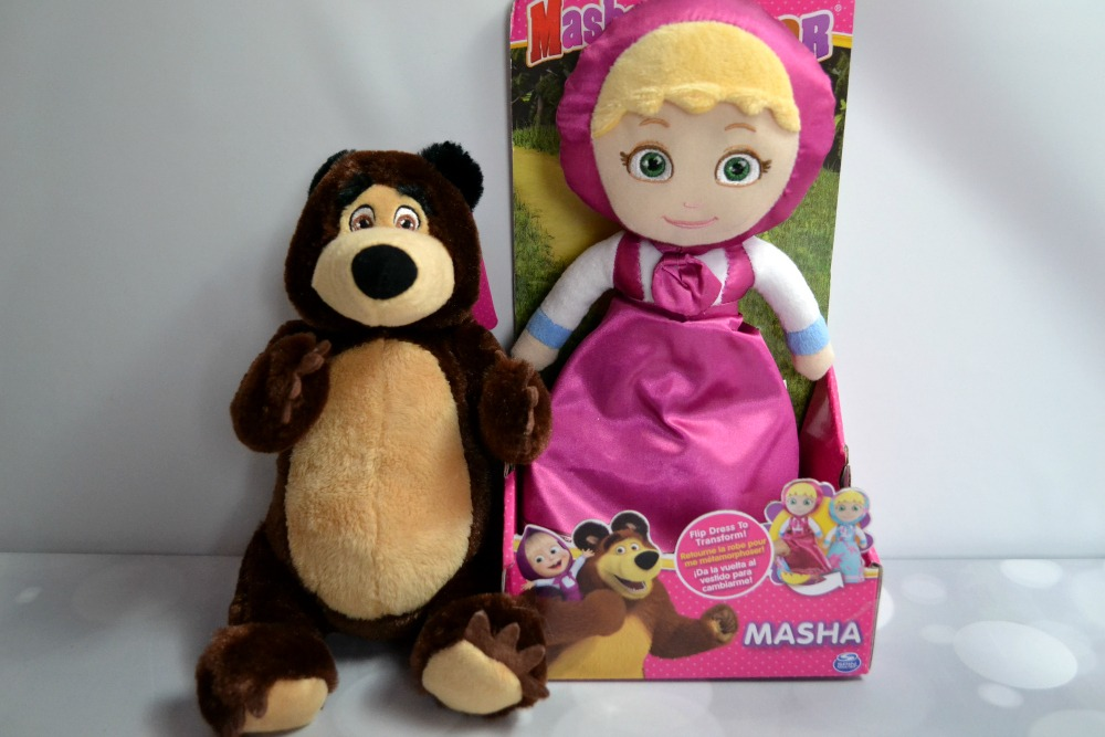 The Netflix hit show Masha and the Bear now has a fun toy line!