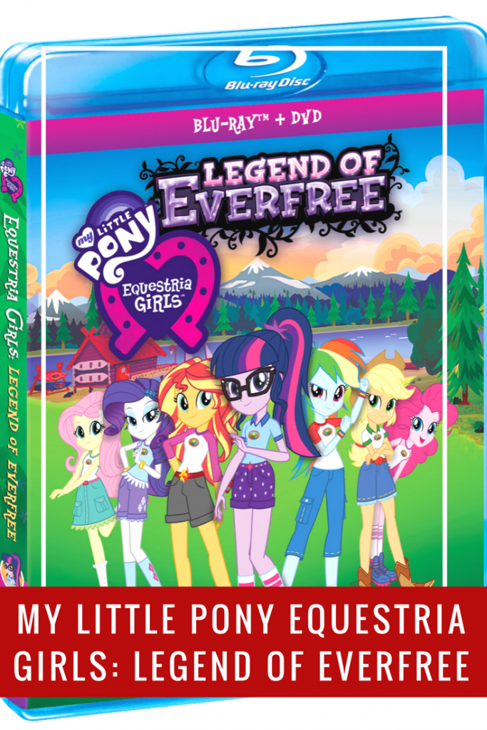 Join the Equestria Girls at Camp Everfree in the new DVD My Little Pony Equestria Girls: Legend of Everfree