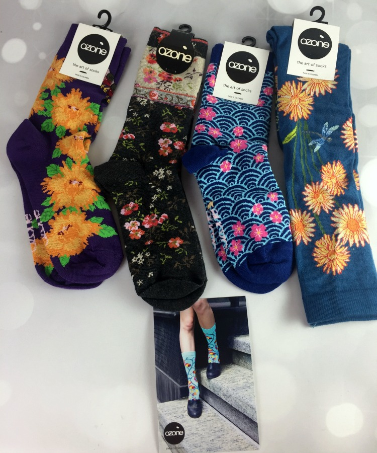Ozone socks bring fun designs to the sock world!