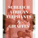 A Fun Adventure with Schleich's Giraffes and African Elephants