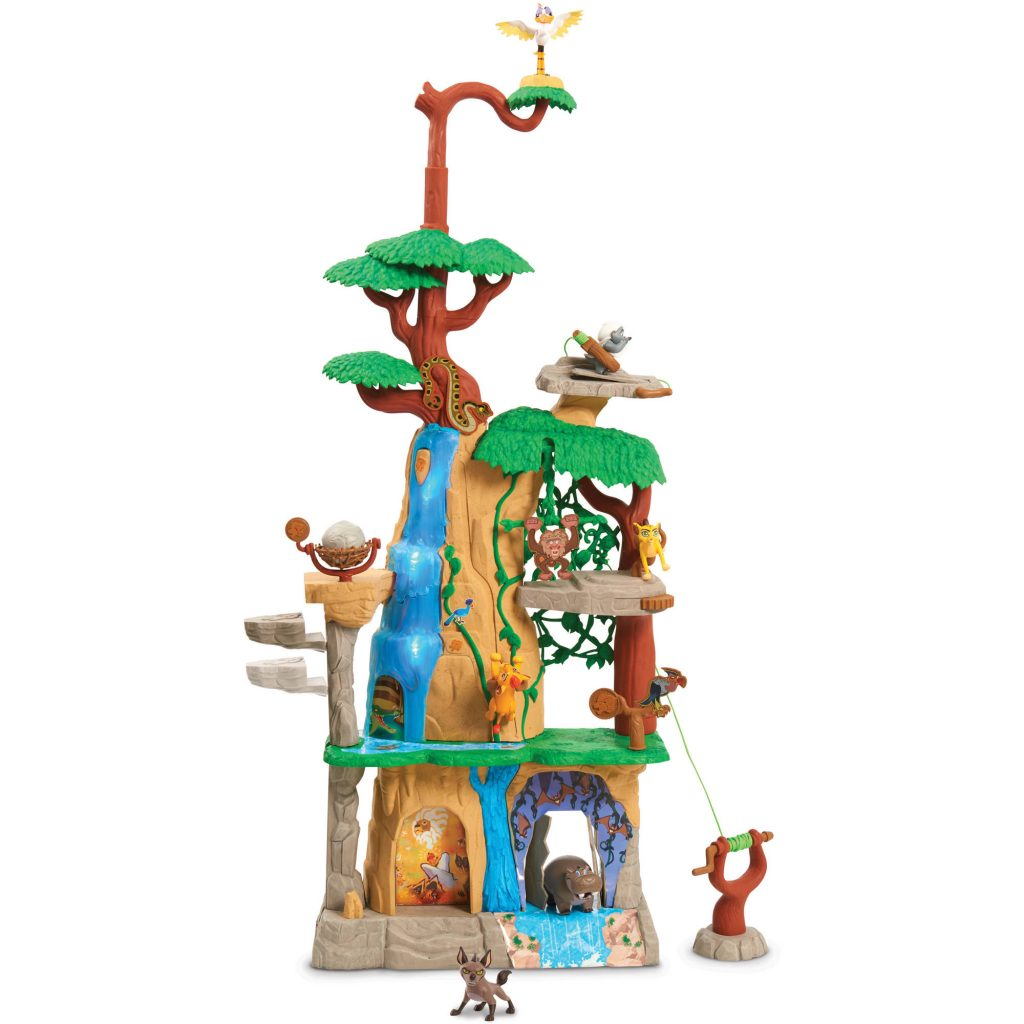 Bring the Lion Guard to your house with the fun Lion Guard Training Lair playset.