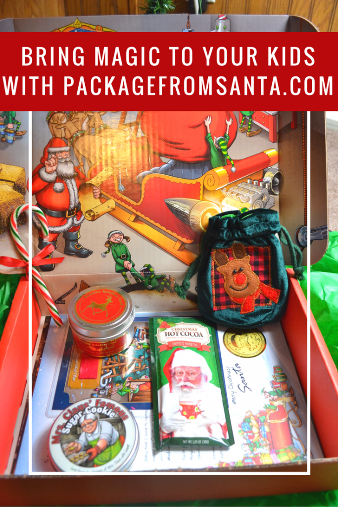 Bring Christmas magic to your child with PackageFromSanta.com!