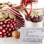 These delicious Cranberry White Chocolate Cookies are perfect anytime of year. Make a batch of the mix to give as a gift.