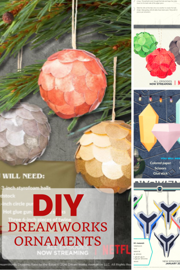 It's not too late to deck your halls with some fun DIY Dreamworks Ornaments. These printables make crafting these ornaments easy. Make sure to share photos of your creations in the comments!