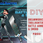 DIY Battle Armor & Sword To Celebrate Trollhunters Now On Netflix!