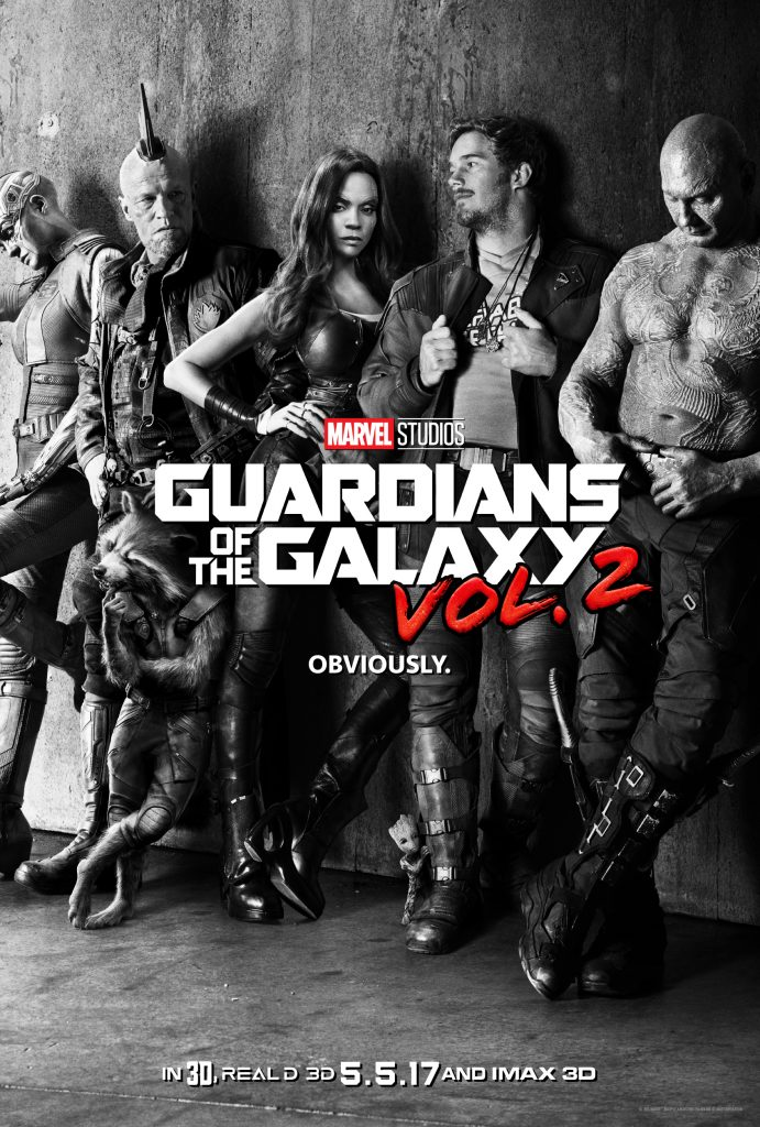 Check out the teaser poster for Guardians of the Galaxy Vol 2 - in theaters May 5, 2017!