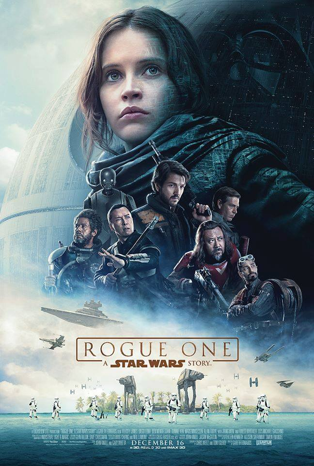 Check out the poster for ROGUE ONE: A STAR WARS STORY, coming to theaters everywhere December 16, 2016!