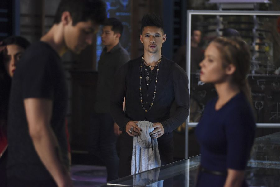 "SHADOWHUNTERS – ""The Guilty Blood"" – Freeform's hit original series ""Shadowhunters"" returns on Monday, January 2 at 8pm ET/PT. (Freeform/John Medland) HARRY SHUM JR."