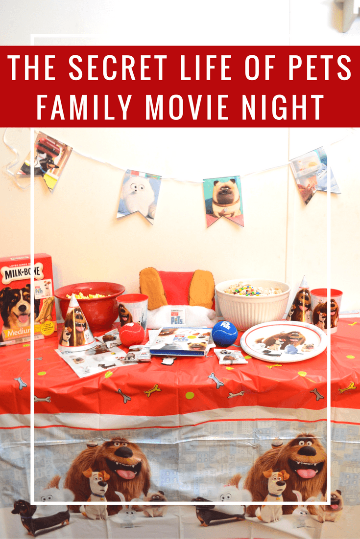family movie night celebrating the release of the secret