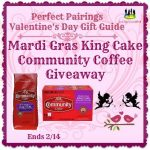 Mardi Gras King Cake Community Coffee Giveaway (Ends 2/14)