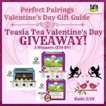 Teasia Tea Giveaway – 3 Winners! (Ends 2/14)