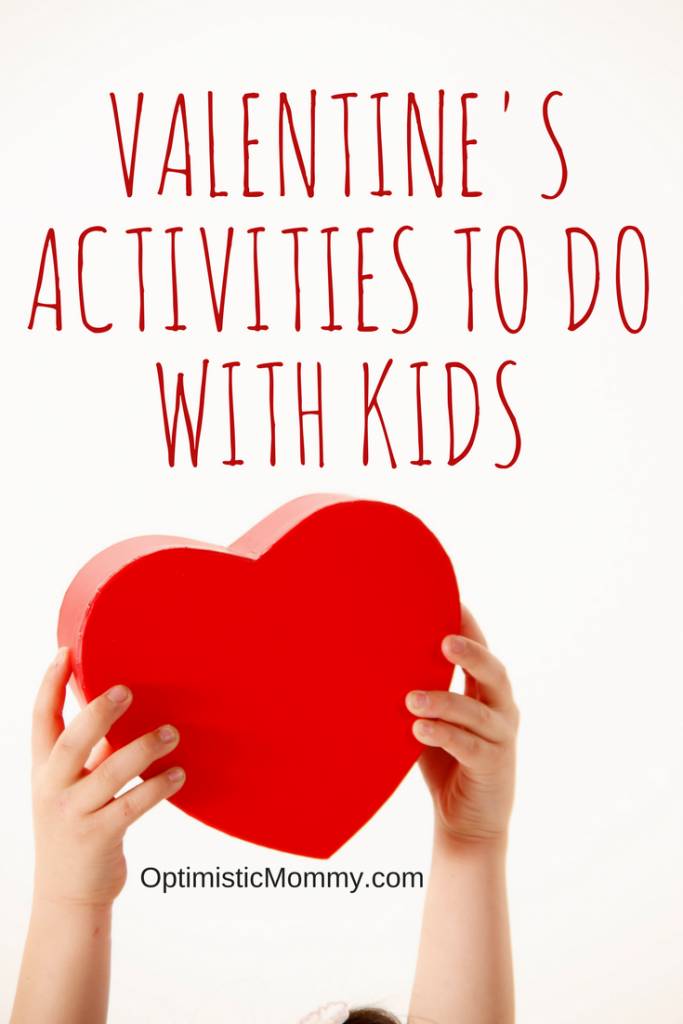 "We tend to focus our attention on our spouses on Valentine's Day, treating it as ""grown-up"" holiday.  But what if we made it a family holiday, the whole family sharing love all together? Here are some fun Valentine's activities to do with kids."