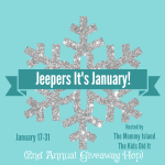 Jeepers It's January! Giveaway Hop – $25 PayPal (Ends 1/31)