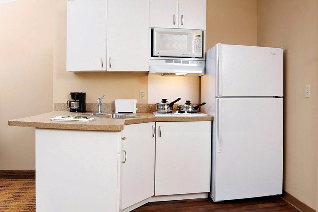 Extended Stay America kitchen