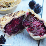 Mini French Toast Blackberry Pie Recipe