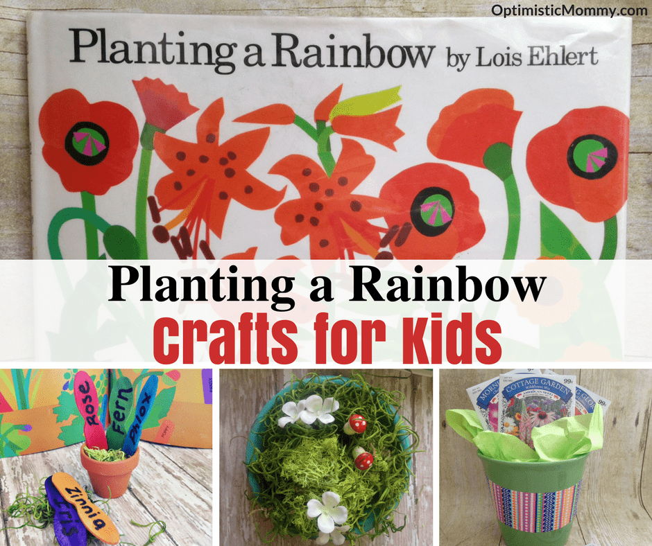 Planting A Rainbow By Lois Ehlert Craft Ideas For Kids Optimistic