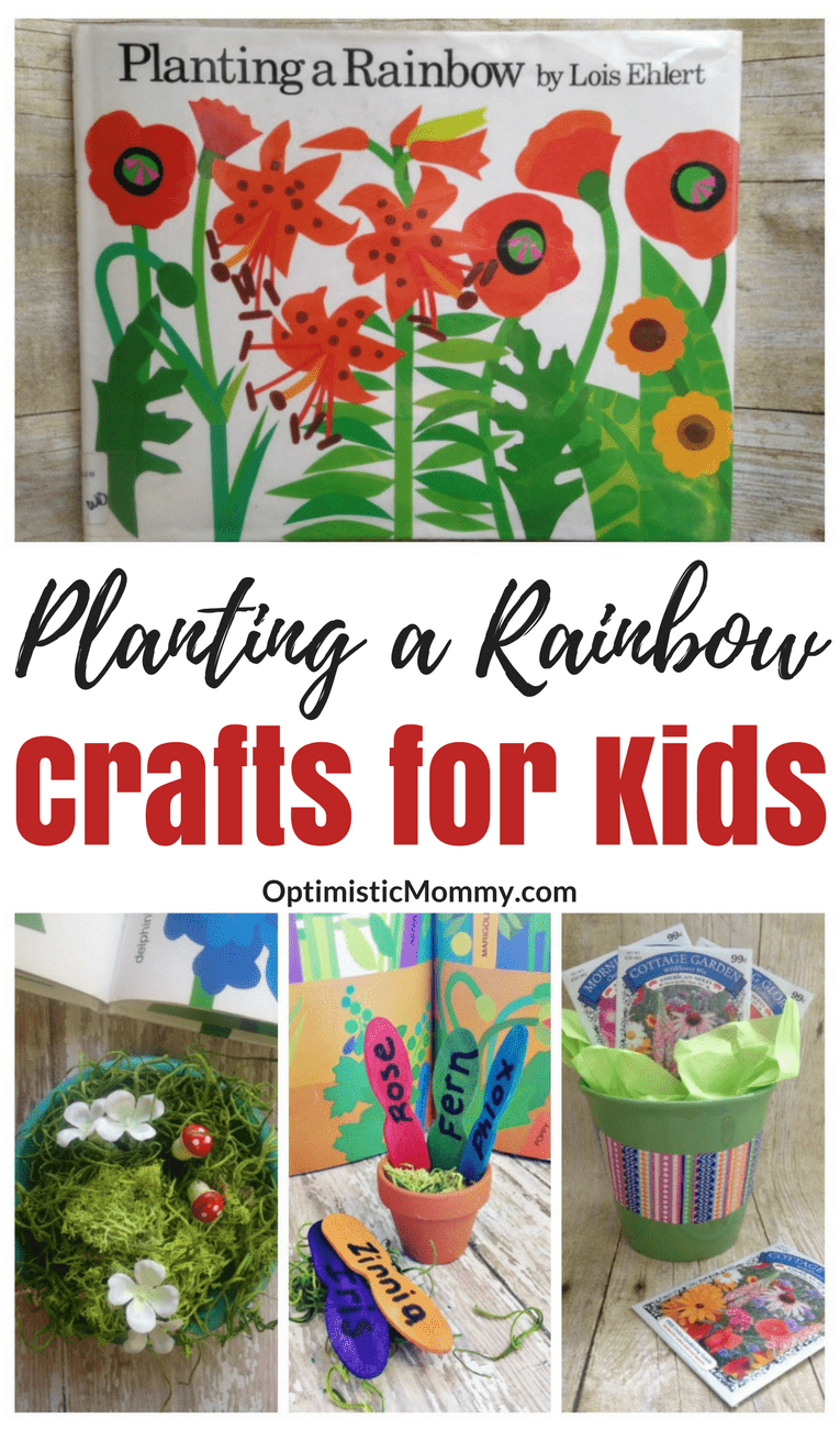 These 3 fun Planting a Rainbow activities really bring the book to life! Make sure to pick up a copy of Planting a Rainbow by Lois Ehlert when you do these with your kids!