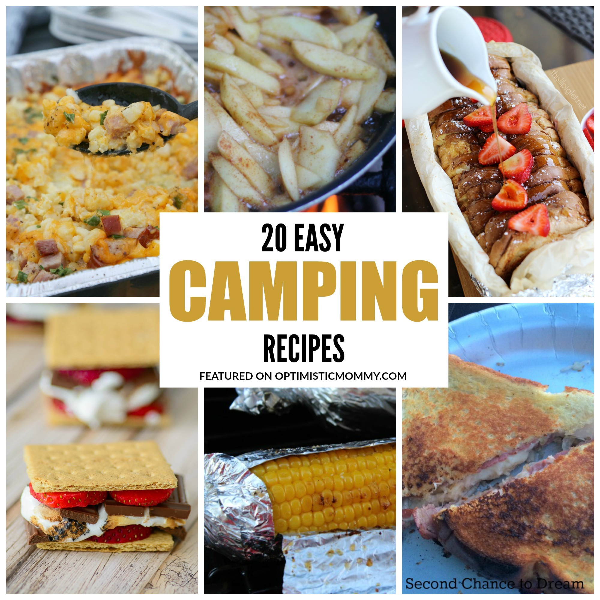 Easy Delicious Camping Food Ideas: 20 Easy Camping Recipes For Your Family!