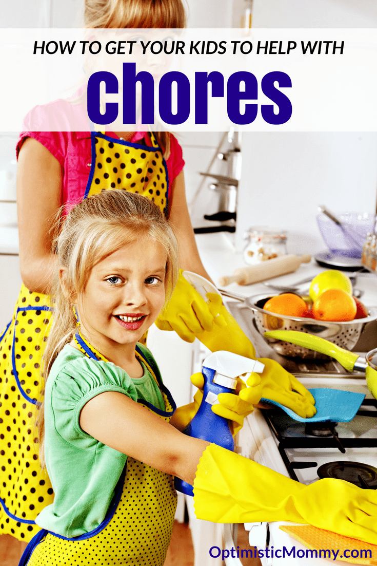 Use these simple tips to get your kids to help with chores around the house!